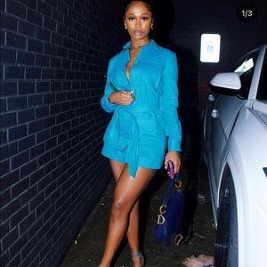 PLT BLUE DRESS